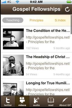 Gospel Fellowships apk screenshot