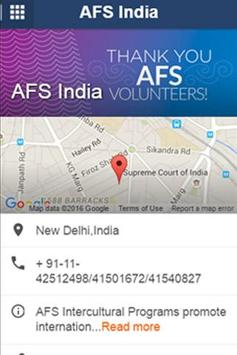 AFS India | Connect poster