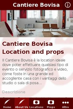 Cantiere Bovisa apk screenshot