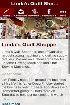 Linda's Quilt Shoppe apk screenshot