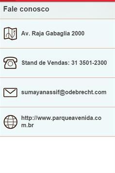 Parque Avenida Odebrecht apk screenshot