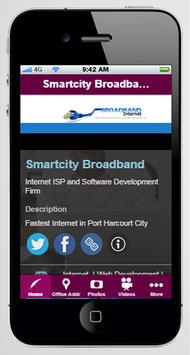 SmartCity Broadband poster