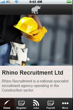 Rhino Rec poster