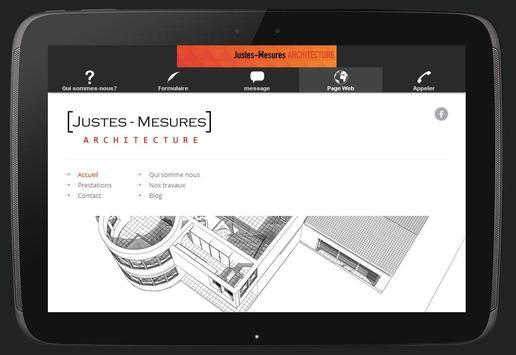 Justes Mesures Architecture apk screenshot