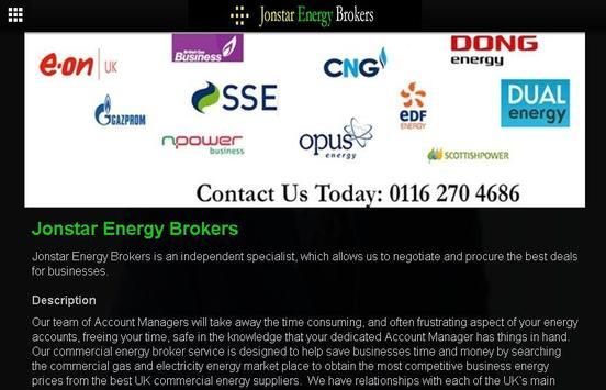 Jonstar Energy Brokers apk screenshot
