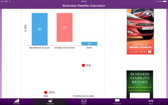 Business Viability Calculator apk screenshot