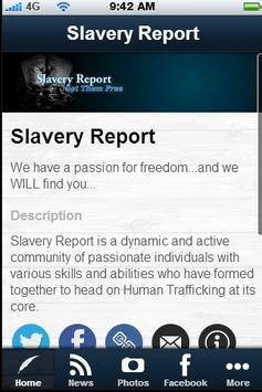 Slavery Report apk screenshot