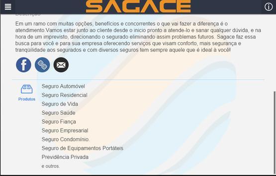 Sagace Seguros apk screenshot