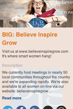 BIG: Believe Inspire Grow apk screenshot