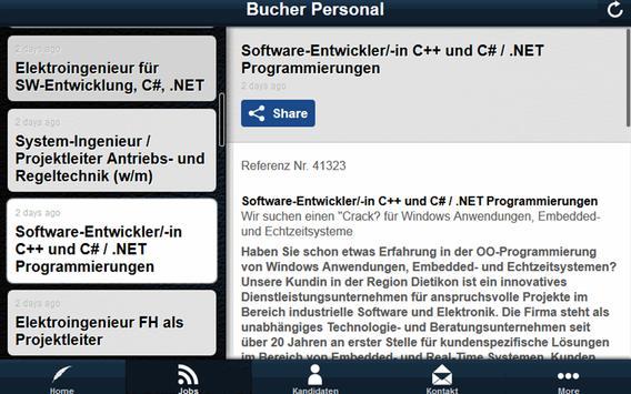 Bucher Personal apk screenshot