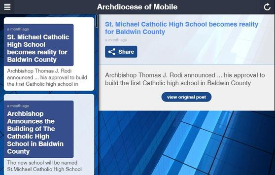 Archdiocese of Mobile apk screenshot
