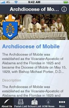Archdiocese of Mobile poster