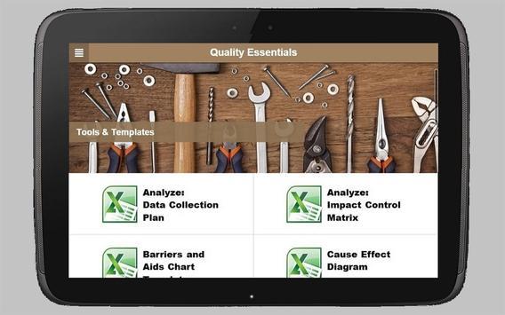 Quality Essentials apk screenshot