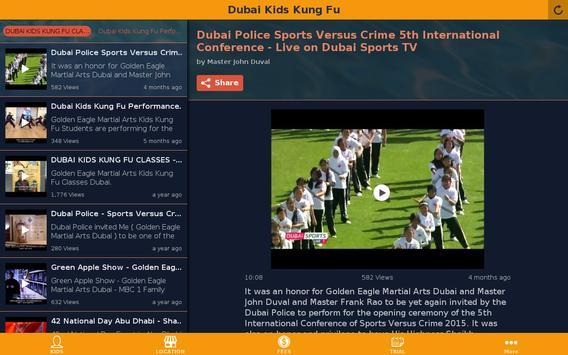 Dubai Kids Kung Fu apk screenshot