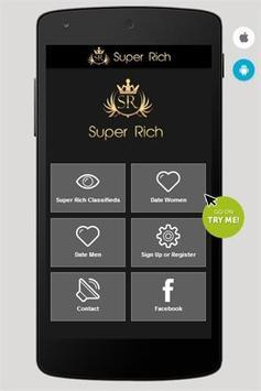Super Rich Classifieds poster