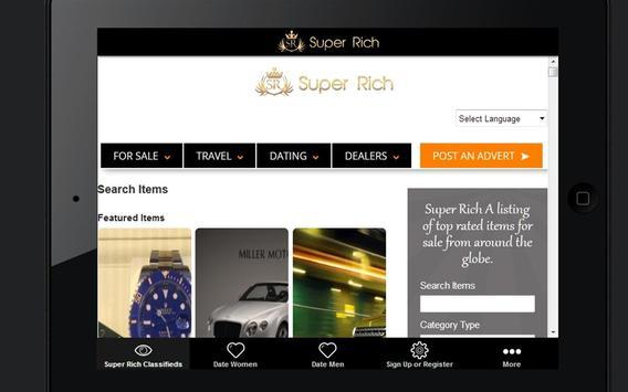 Super Rich Classifieds apk screenshot
