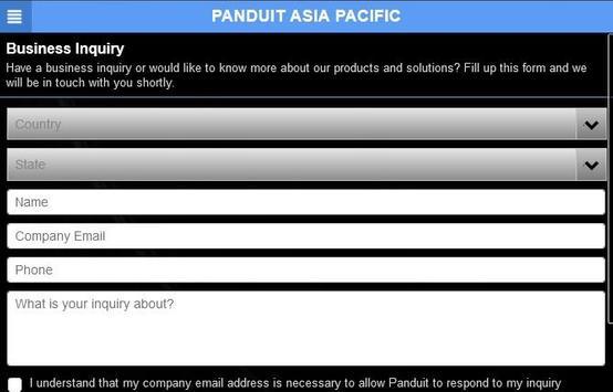 Panduit AP apk screenshot