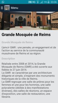 La Grande Mosquée de Reims poster