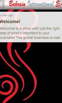 Bahrain International Expo apk screenshot
