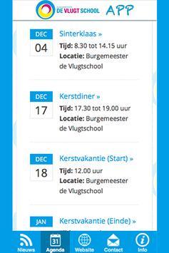 Burgemeester de Vlugtschool apk screenshot