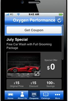 Oxygen Performance apk screenshot
