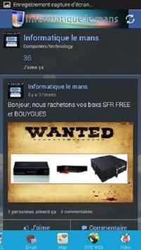 Informatique Le Mans poster