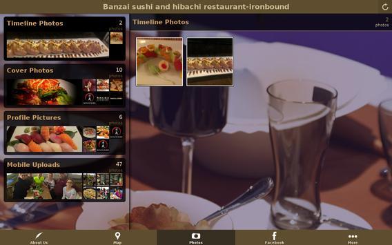 Banzai sushi ironbound nj apk screenshot