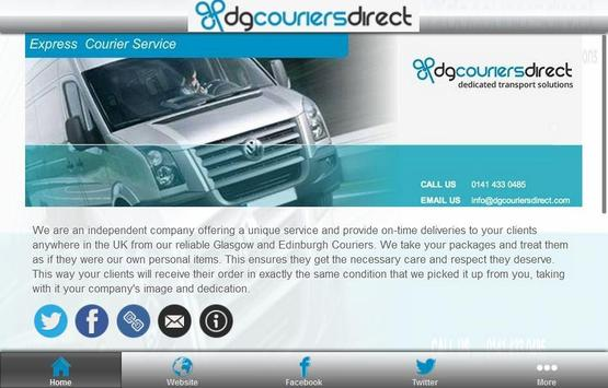 DG Couriers apk screenshot
