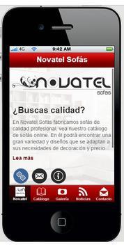 Novatel Sofás poster