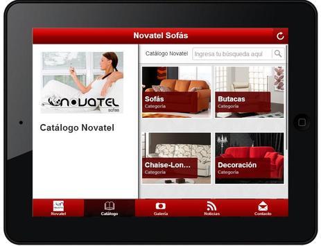 Novatel Sofás apk screenshot