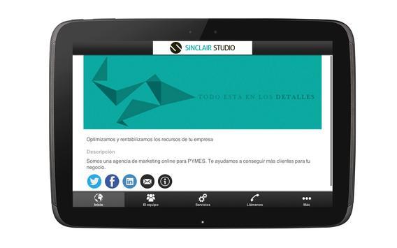 Sinclair Studio apk screenshot