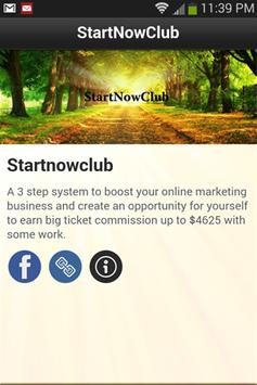 StartNowClub poster