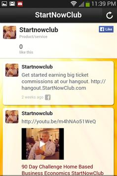 StartNowClub apk screenshot