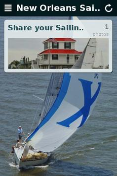 New Orleans Sailing poster