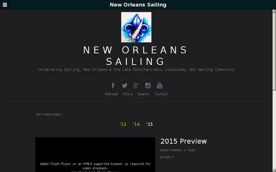 New Orleans Sailing apk screenshot