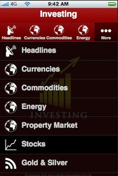Investing apk screenshot