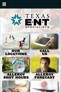 Texas ENT Specialists poster