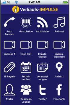 Verkaufs-Impulse poster