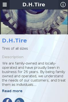 D.H.Tire poster