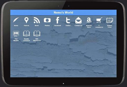 Nemo's World apk screenshot