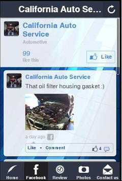 California Auto Service apk screenshot