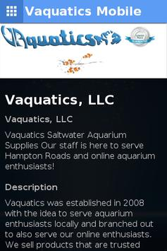 Vaquatics Mobile apk screenshot