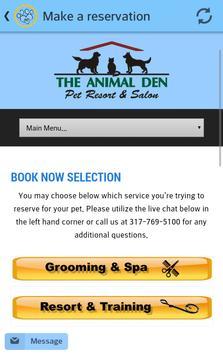 Animal Den Indy apk screenshot