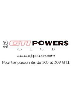 Club GTIPOWERS 205 GTI poster