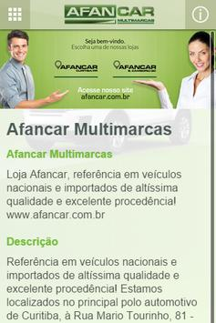 Afancar Multimarcas apk screenshot