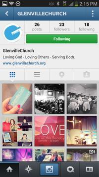 Glenville Church poster