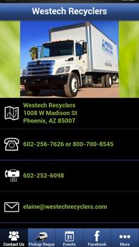 Westech Recyclers poster