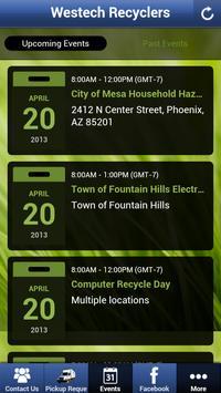 Westech Recyclers apk screenshot