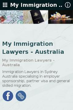 My Immigration Lawyers apk screenshot