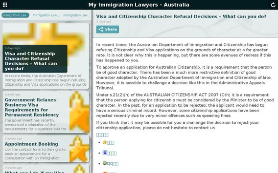 My Immigration Lawyers poster